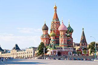 Primavara in capitalele Rusiei
